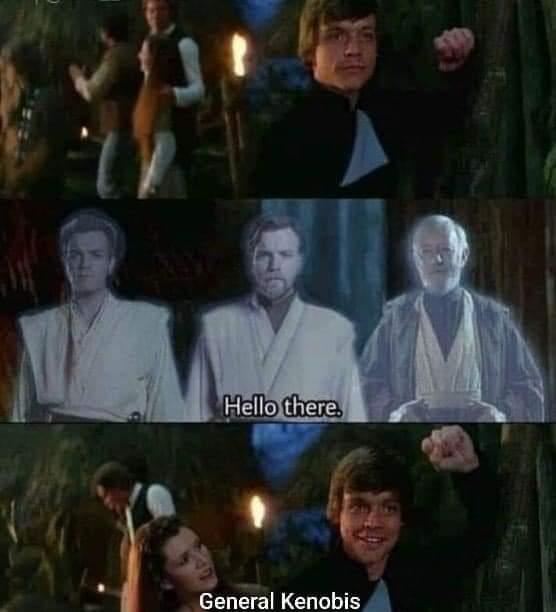 Memes Star Wars Obi-Wan Kenobi ghost