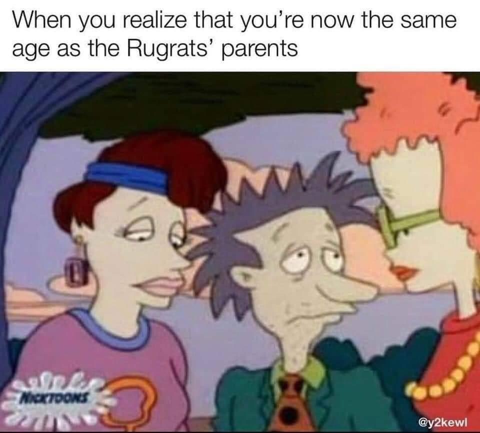 Memes Nickelodeon Rugrats cartoon parents