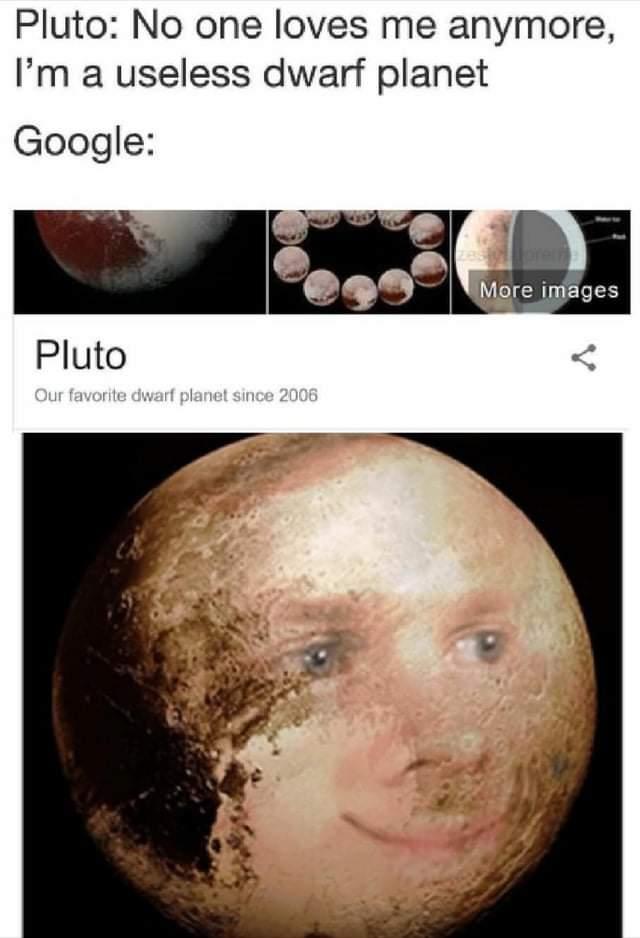 Memes The planet Pluto