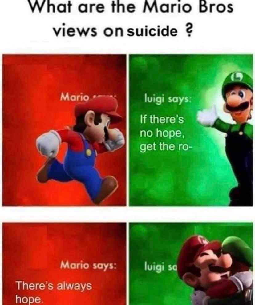 Memes positivity suicide prevention