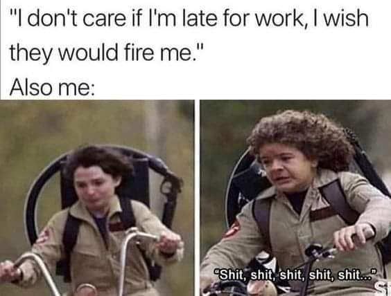 Late to work memes
