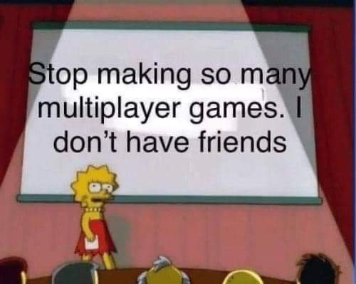 Stop making so many multiplayer video game memes