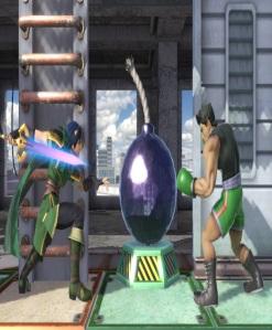 Marth vs little mac Wrecking crew stage super Smash Bros ultimate Nintendo Switch
