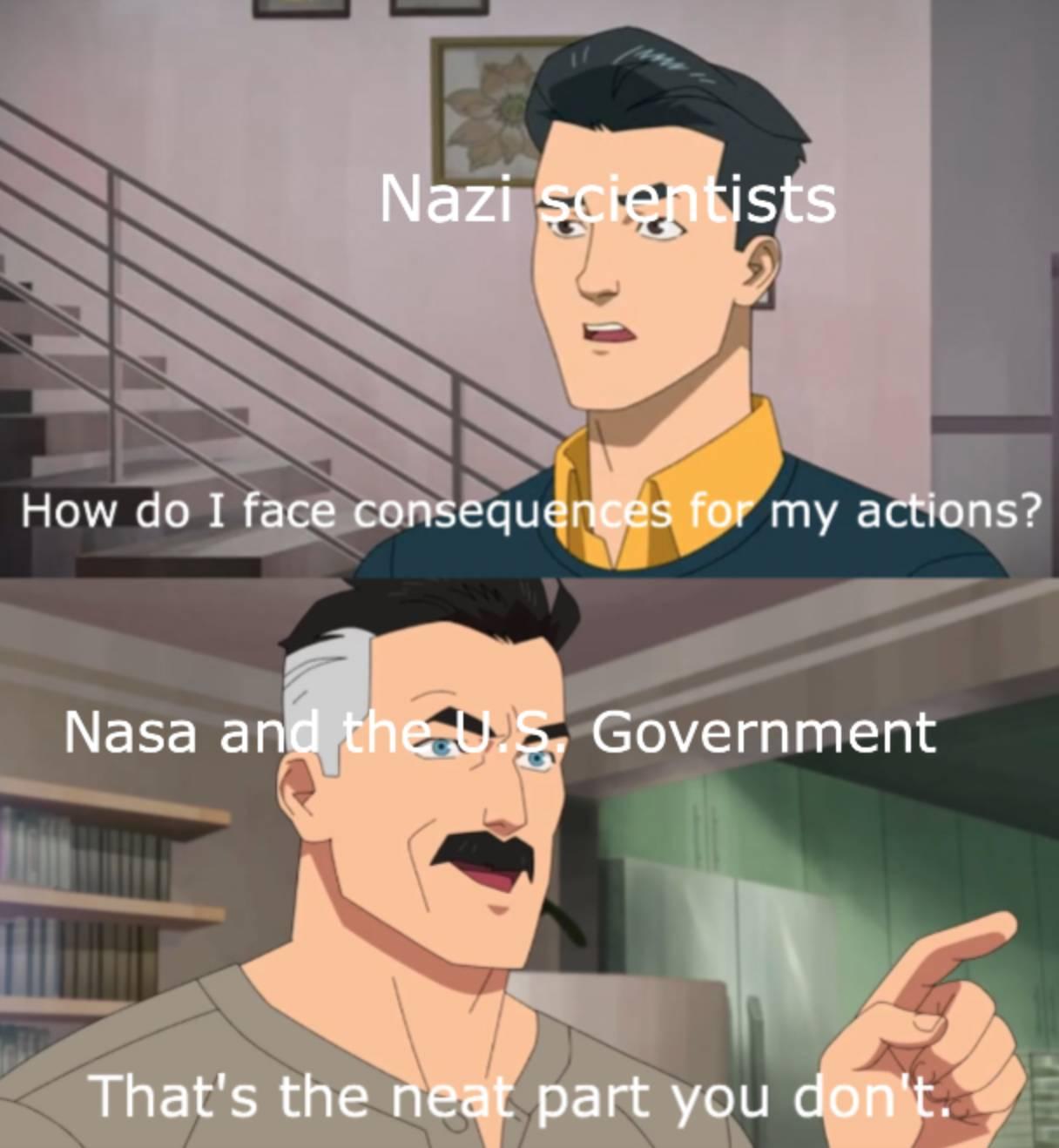 Memes nasa recruiting german scientists