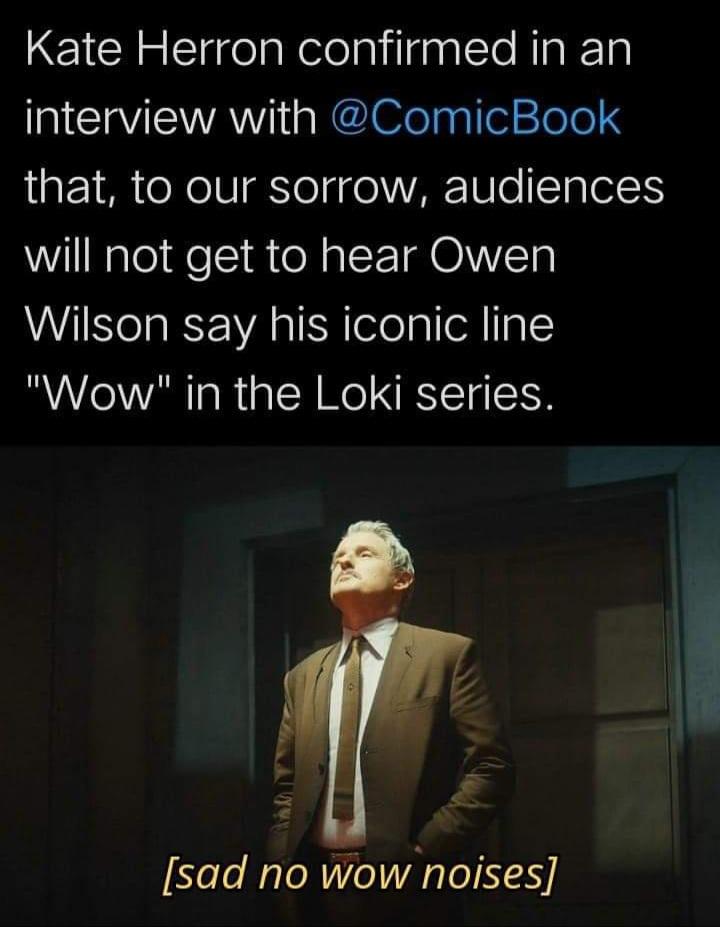 Memes Owen Wilson loki