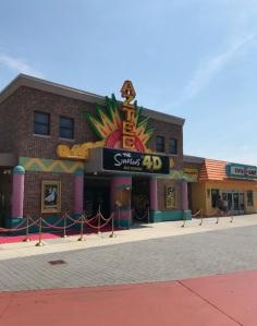 The Simpsons 4D Theater Myrtle Beach South Carolina
