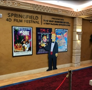 Tory mcclure The Simpsons 4D Theater Myrtle Beach South Carolina