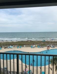 Pool at Myrtle Beach south carolina resort