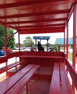 Tractor ride Beechwood farm Marietta south carolina