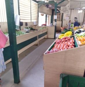 Shopping for produce Beechwood farm Marietta south carolina