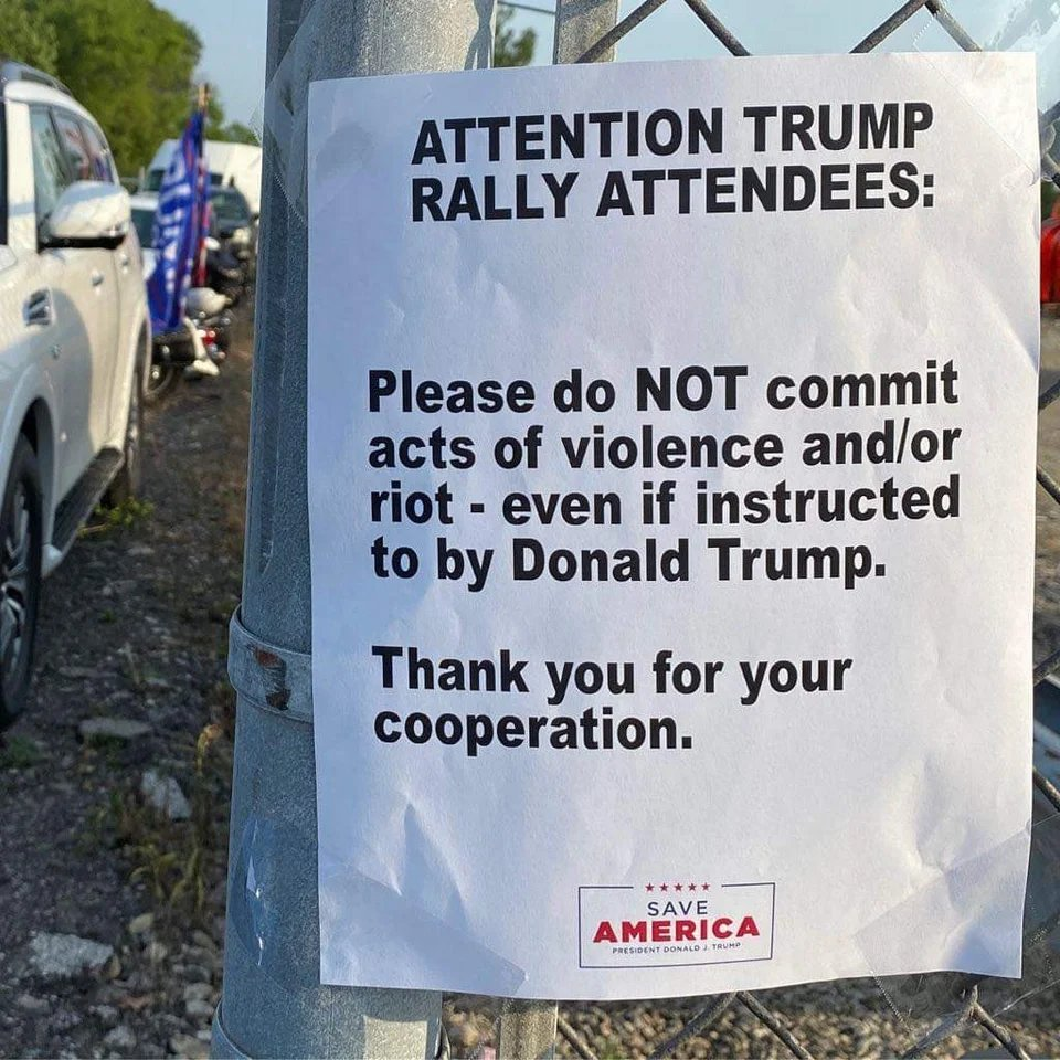 Memes Donald Trump rally attendees