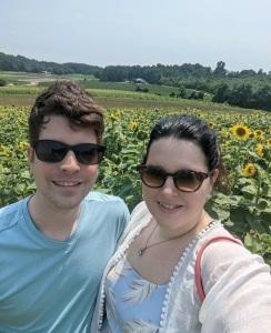 Romantic sunflower photo Beechwood farm Marietta south carolina