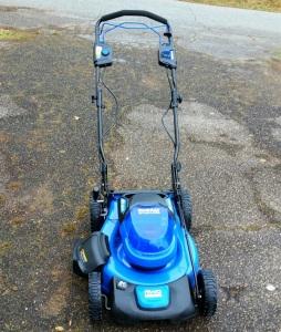 40v Kobalt Self-Propelled Lawn Mower electric