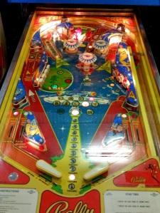 Bally star Trek Pinball board