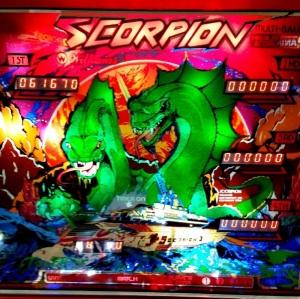 Scorpion Pinball Machine