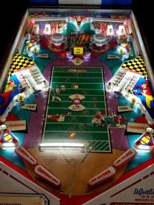 Pro-Football Pinball board