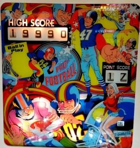 Pro-Football Pinball Machine