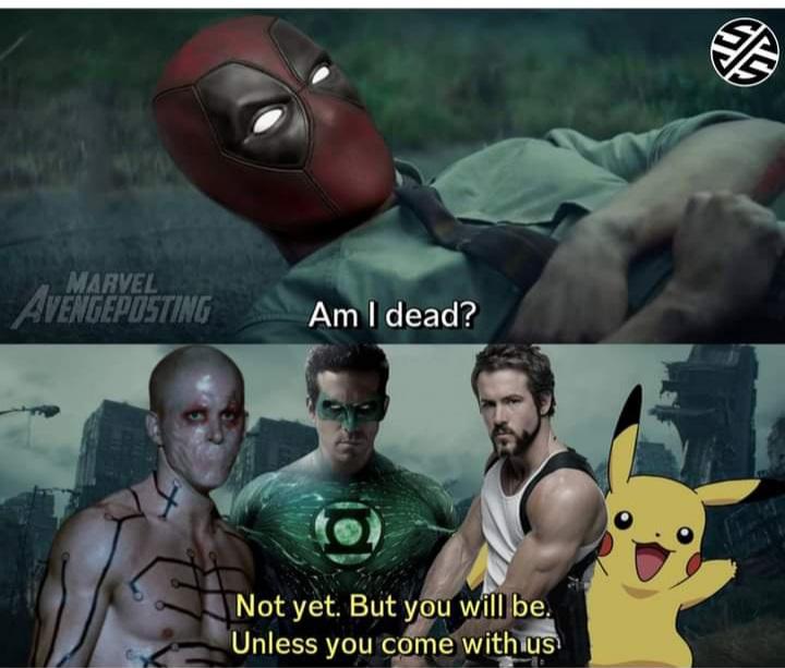 Memes Deadpool multiverse