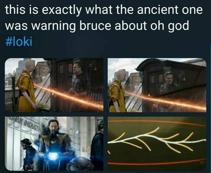 Memes multiverse marvel loki mcu ancient one