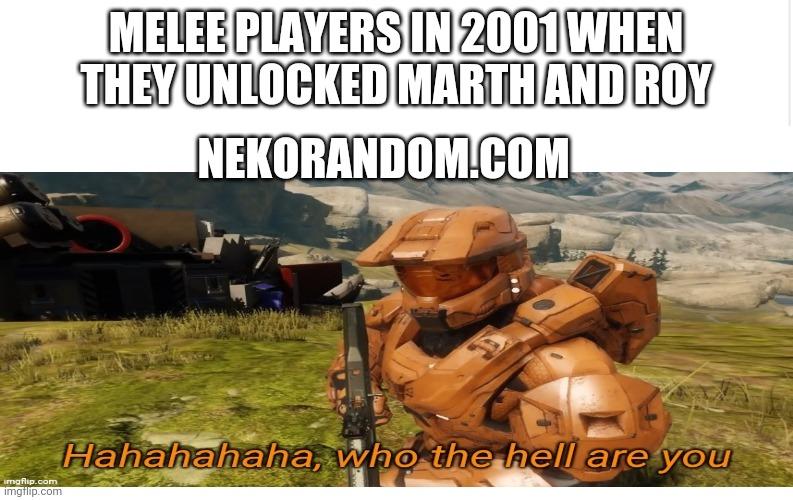 Memes Super Smash Bros Melee Marth and Roy fire Emblem