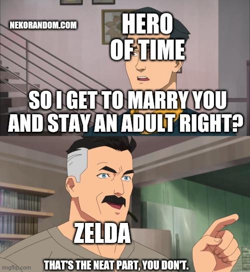 Memes the Legend of Zelda Ocarina of Time hero of time