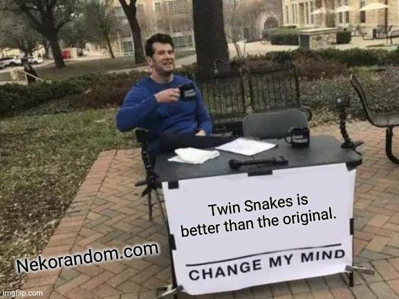 Memes metal gear solid twin snakes Nintendo Gamecube Konami