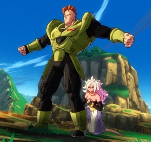 Android 21 kills Android 16 dragon Ball FighterZ Nintendo Switch Xbox One PS4