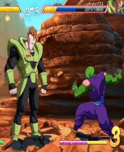 Android 16 vs piccolo dragon Ball FighterZ Nintendo Switch Xbox One PS4