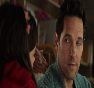 Ant-Man and the Wasp Scott Lang talking to his daughter