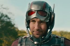 Ant-Man 2015 Scott Lang puts on Ant-Man suit