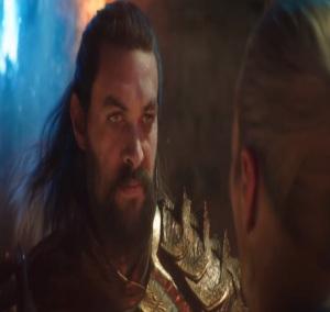 Arthur Curry fights for Atlantis Aquaman 2018
