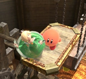 Kirby vs rosalina and luma Arena Ferox stage super Smash Bros ultimate Nintendo Switch fire Emblem