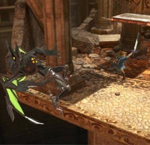Link sword slashing Ridley Arena Ferox stage super Smash Bros ultimate Nintendo Switch fire Emblem