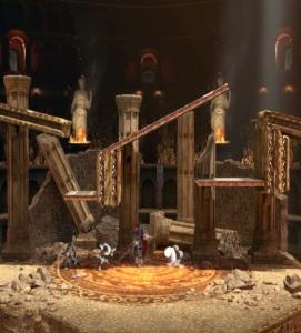 Roy vs sonic the Hedgehog Arena Ferox stage super Smash Bros ultimate Nintendo Switch fire Emblem