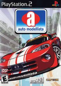Auto Modellista PS2 boxart
