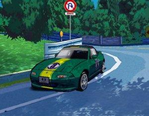 Auto Modellista PS2 green car Capcom