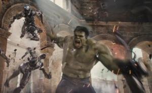 Avengers: Age of Ultron Hulk smashing robots mark Ruffalo