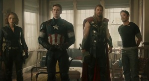 Avengers: Age of Ultron black widow captain America Thor tony stark