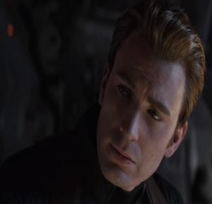 Avengers: Endgame Captain America shaves off his beard Chris Evans