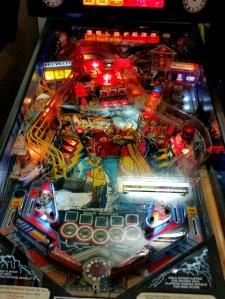 Back to the Future pinball board