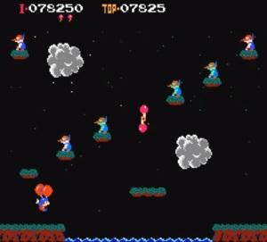 Balloon Fight Nintendo NES