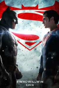 Batman Vs Superman: Dawn of Justice movie poster Henry Cavill Ben Affleck