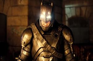 Metal batsuit batman vs superman dawn of Justice ben Affleck