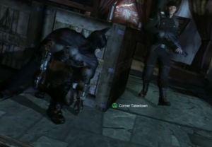 Corner takedown Batman: Arkham City Xbox 360