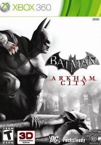 Batman: Arkham City Xbox 360 boxart