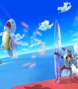 Bayonetta vs squirtle super Smash Bros ultimate Nintendo Switch