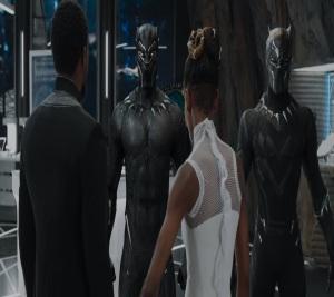 Black Panther 2018 T'Challa picks new suit