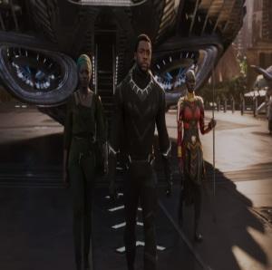 Black Panther 2018 T'Challa becomes king of Wakanda