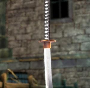 Katana of Zangetsu Bloodstained ritual of the night Nintendo Switch Xbox One PS4