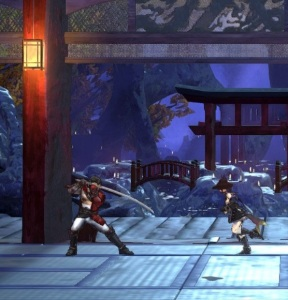 Last boss battle against Zangetsu Bloodstained ritual of the night Nintendo Switch Xbox One PS4